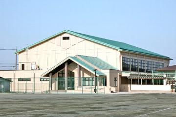 葉栗中学校屋内運動場改築工事