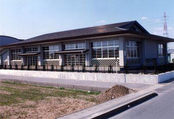 西成東部中学校武道場